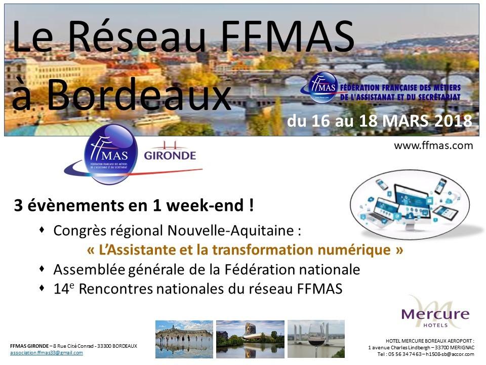 Read more about the article Tous à Bordeaux pour les rencontres nationales du réseau !