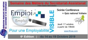 Read more about the article Semaine des Métiers – Edition 2019