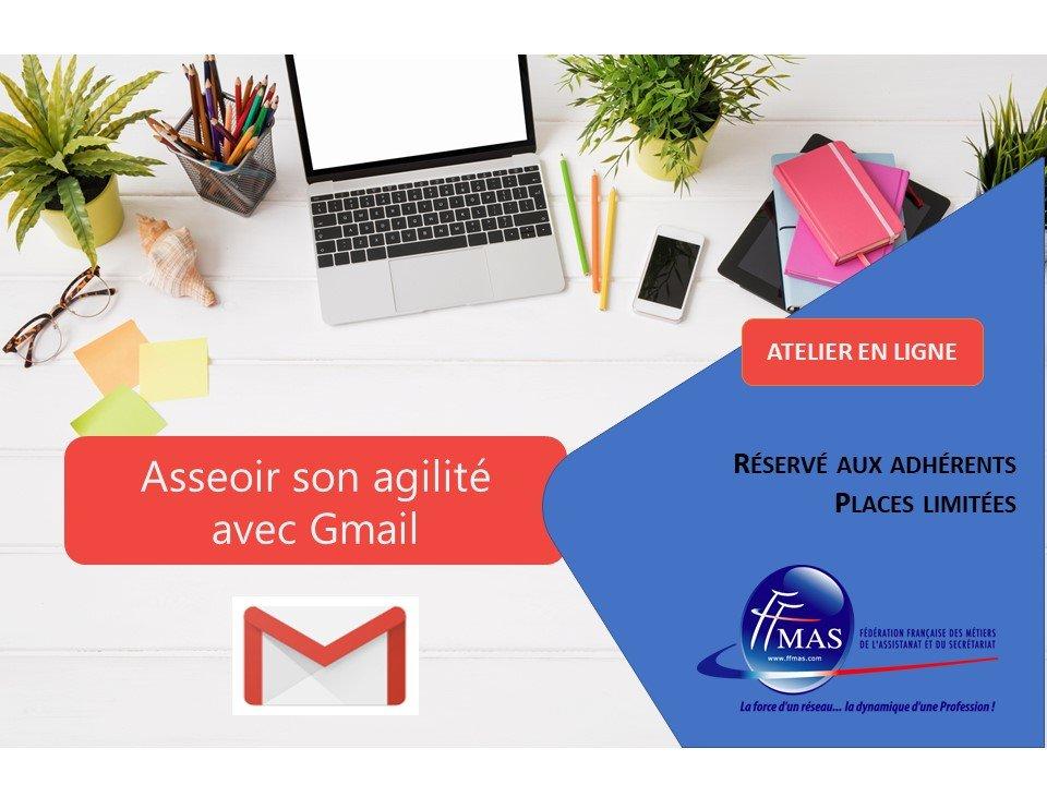 Read more about the article Atelier en ligne   Gmail : trucs et astuces