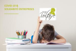 Read more about the article Projet Voltaire Orthographe offert à toutes les entreprises pour les enfants des salariés
