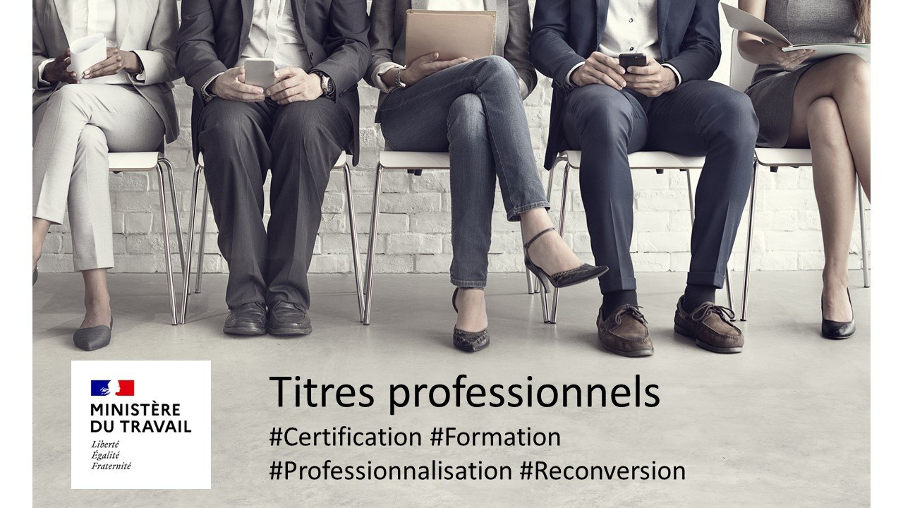 You are currently viewing Reconversion, professionnalisation, les titres professionnels sont la solution.