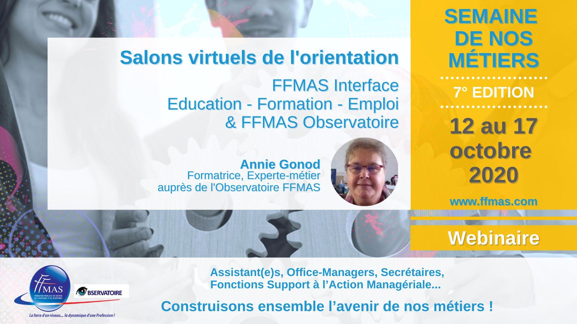 You are currently viewing Salons de l'orientation de la Semaine de nos métiers