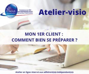 Read more about the article Atelier-visio  | Mon 1er client : comment bien se préparer ?