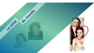 Read more about the article Le billet de Josette | La joie de vivre de Jeannine
