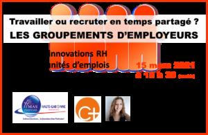 Read more about the article FFMAS31 – Occitanie – Travailler ou recruter en temps partagé ? Découverte des GROUPEMENTS D'EMPLOYEURS – 15/03 à 18h30 (visio)