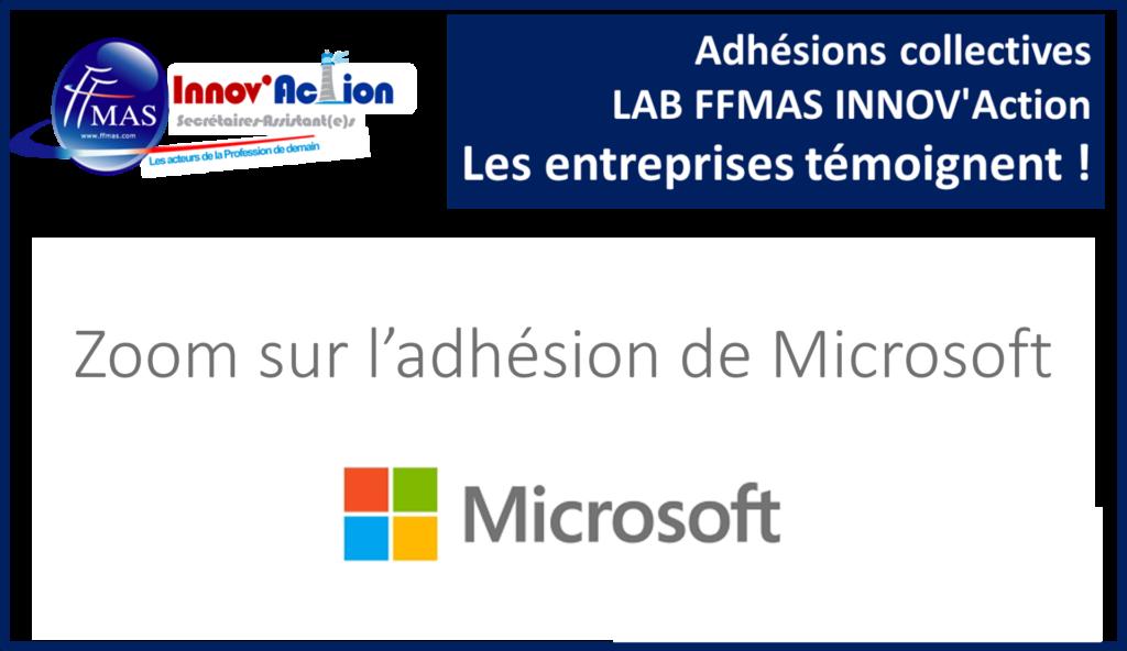 Read more about the article Adhésions collectives FFMAS INNOV'Action : les entreprises témoignent ! ZOOM sur MICROSOFT