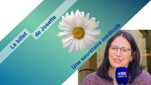 Read more about the article Le billet de Josette | Une marguerite contre un crachat !