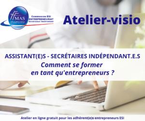Read more about the article Atelier-visio  | Comment se former en tant qu'entrepreneur ?