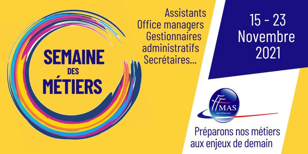 Read more about the article Semaine de nos métiers | 8ème édition | du 15 au 23 novembre 2021