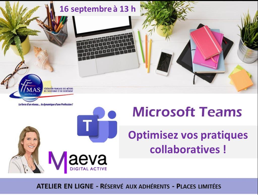 Read more about the article Assistant(e)s : optimisez vos pratiques collaboratives avec TEAMS