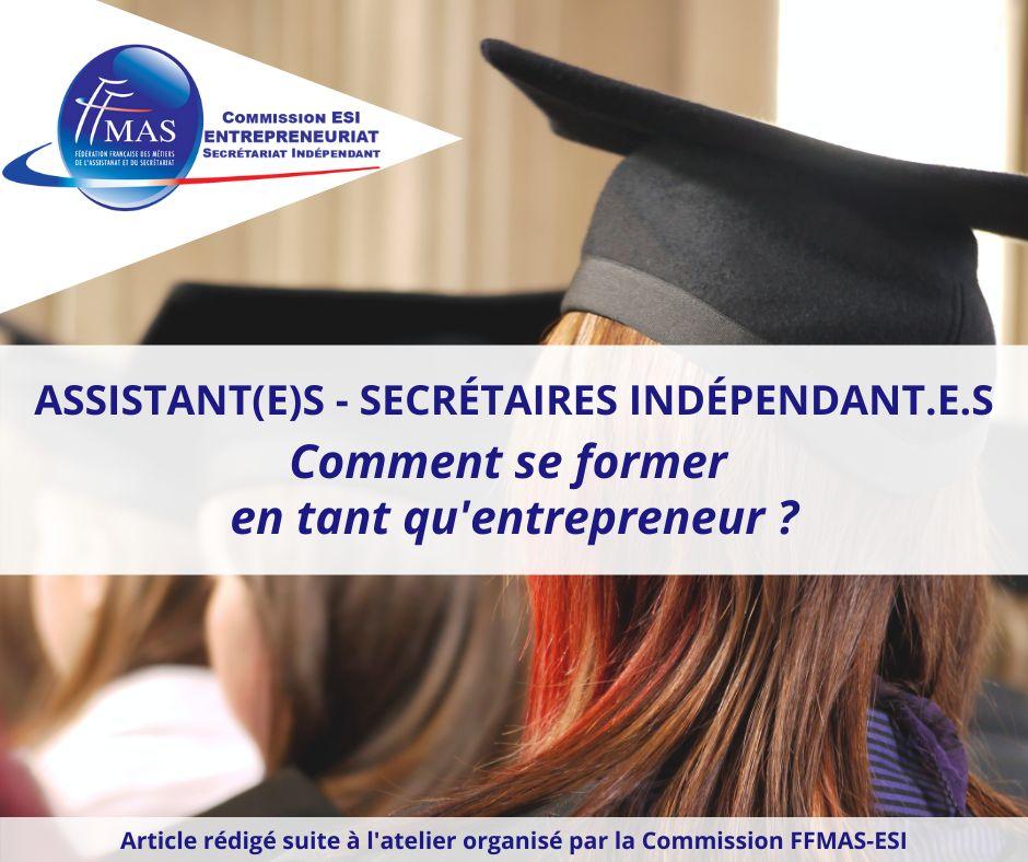 Read more about the article Comment se former en tant qu'entrepreneur ?