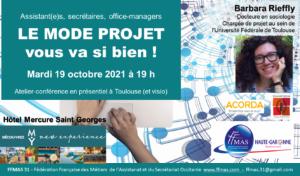Read more about the article Assistant(e)s, secrétaires, office-managers : LE MODE PROJET vous va si bien !
