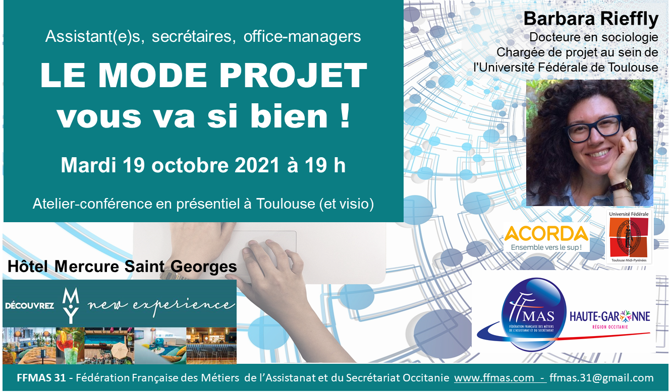 You are currently viewing Assistant(e)s, secrétaires, office-managers : LE MODE PROJET vous va si bien !